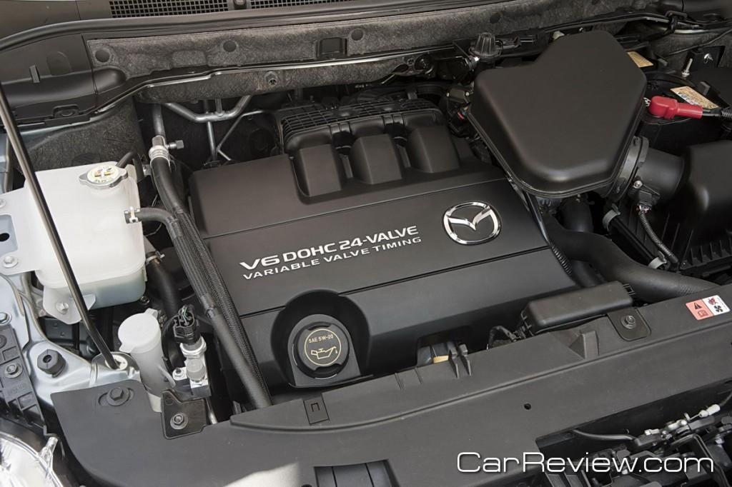 273 hp V6 DOHC engine