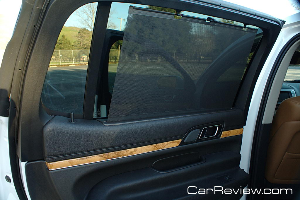 Lincoln MKT 2nd row window sunshade