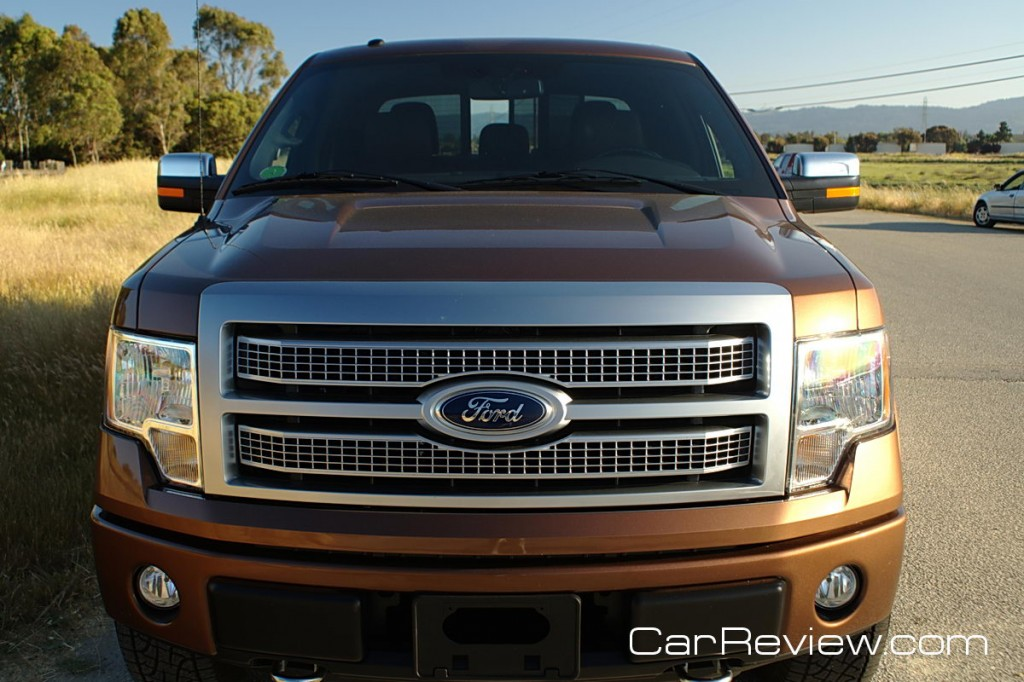 2011 Ford F-150 restyled front grille