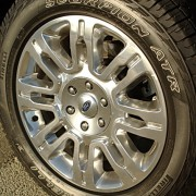 "Ford F-150 20"" alloy wheels"