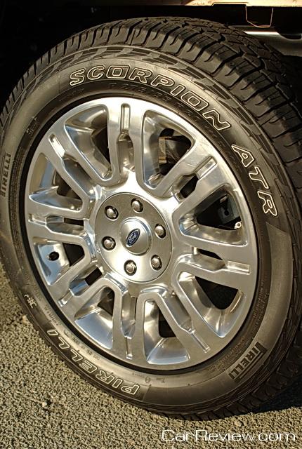 """Ford F-150 20"""" alloy wheels"""