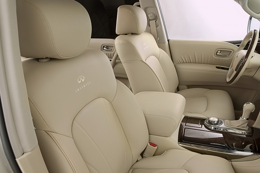 8-way power front-passenger's seat, including 2-way power lumbar support