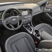 2011 Kia Optima Hybrid interior