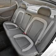 Kia Optima Hybrid heated rear seats with optional leather trim