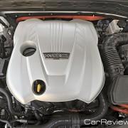 Kia Optima Hybrid 166 hp 2.3L DOHC 4-cylinder engine and + 40 hp electric motor