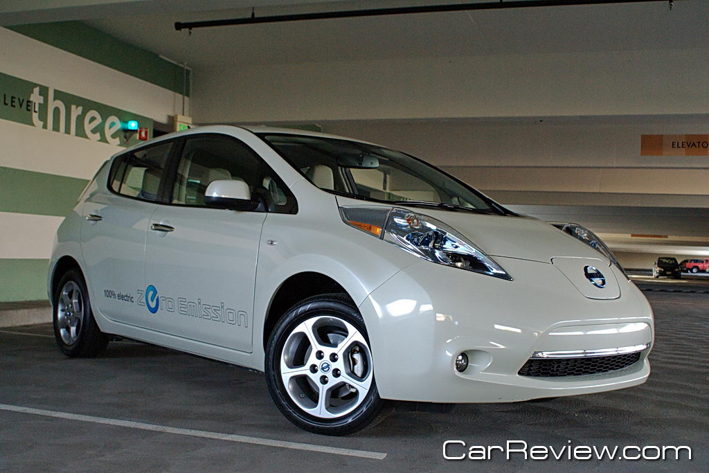 2011 Nissan Leaf Review Driving Into The Future With