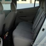 Nissan LEAF back seats