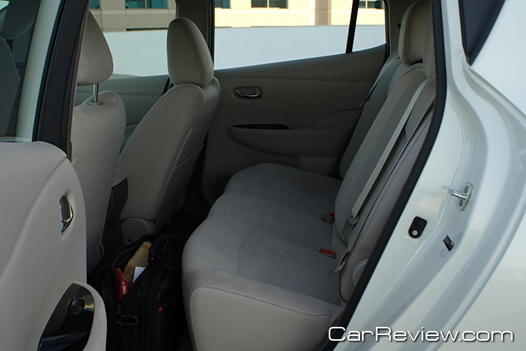 Nissan LEAF back seats