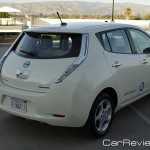 Nissan LEAF rear LED taillights