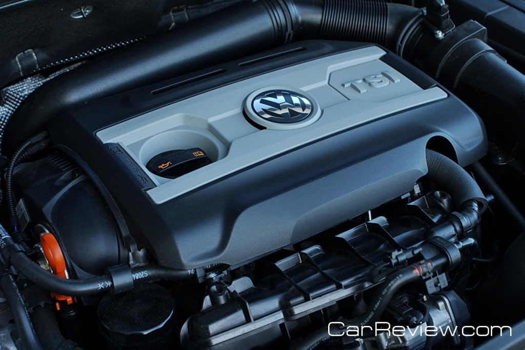 200 hp, 2.0L TSI turbocharged 4-cylinder engine