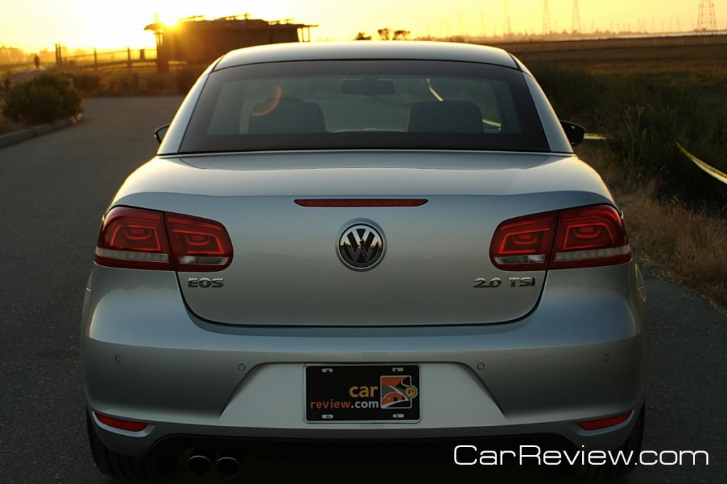 2012 VW Eos rear park distance control