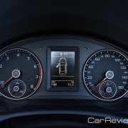 2012 VW Eos instrument cluster