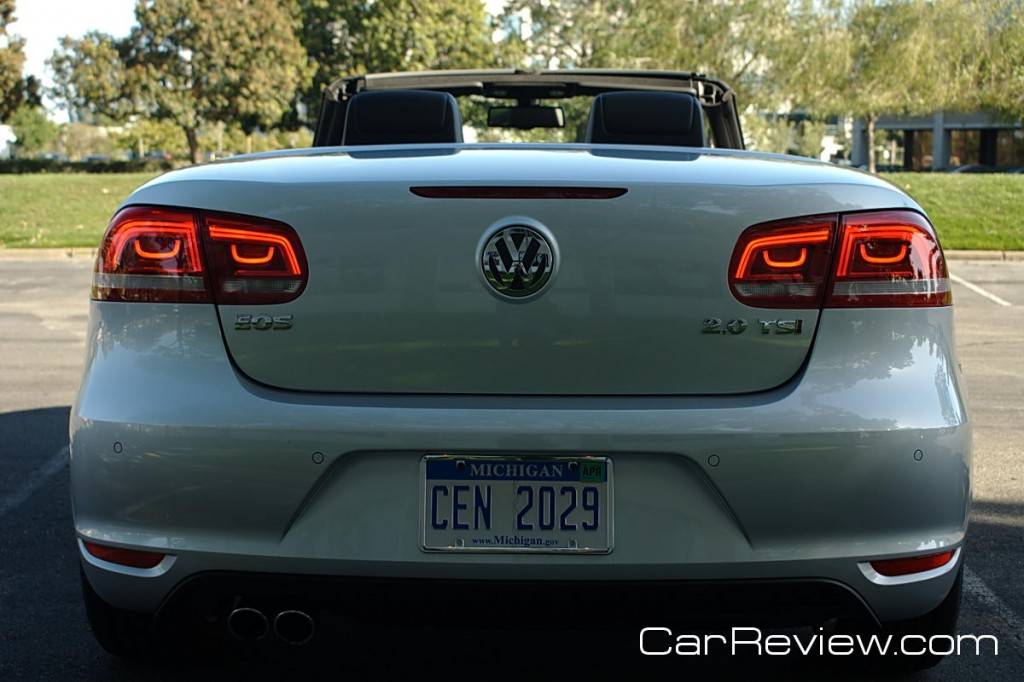 Volkswagen Eos LED tail lights
