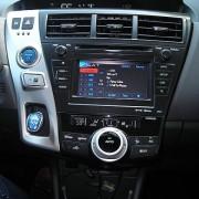 2012 Toyota Prius v center console