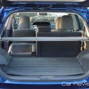2012 Toyota Prius v rear cargo area