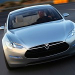 Tesla Model S Driving