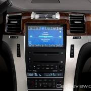 Cadillac Escalade infotainment display
