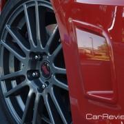 17 x 7-in. 15-spoke aluminum alloy wheels