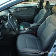 Passenger volume - 103.8 cubic feet inside the Sonata hybrid