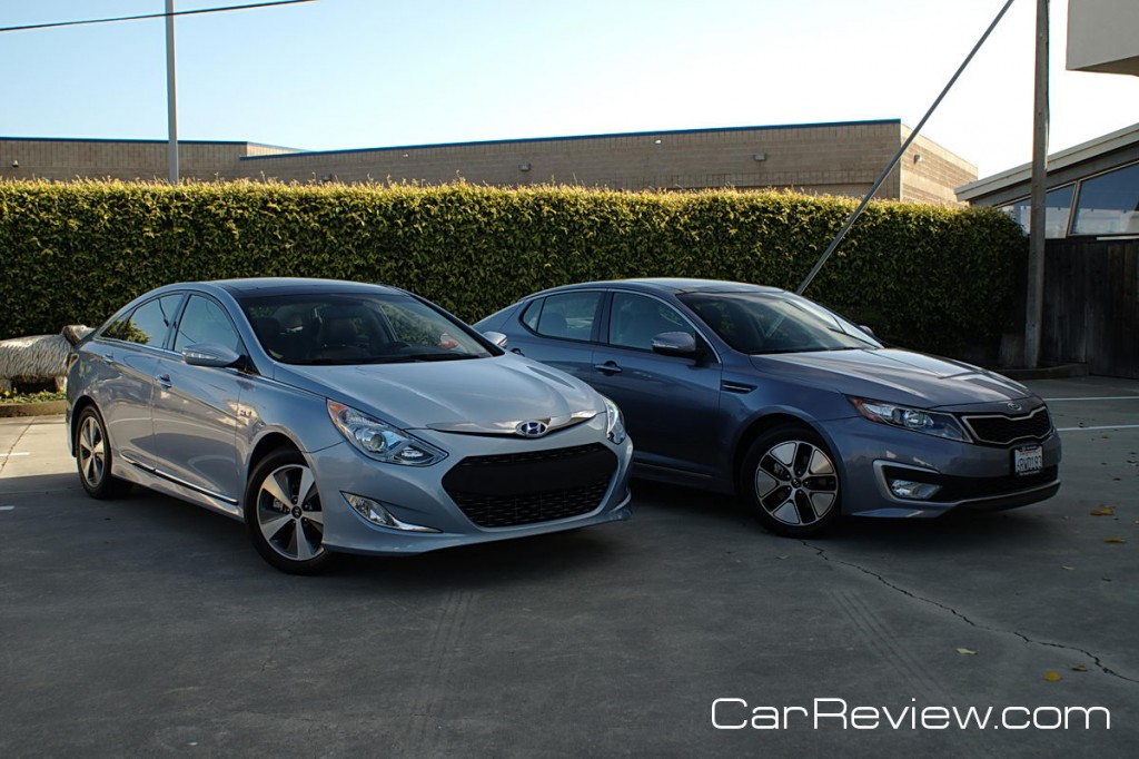 2011 Hyundai Sonata Hybrid And 2011 Kia Optima Hybrid