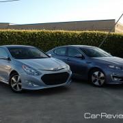 2011 Hyundai Sonata Hybrid and 2011 Kia Optima Hybrid