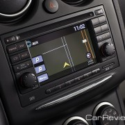 """Nissan Navigation System with 5"""" color touch-screen monitor"""