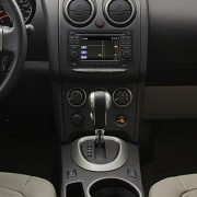 Nissan Rogue center console stack