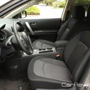 6-way manual adjustable driver's seat