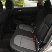 60/40 split fold-down rear seatbacks