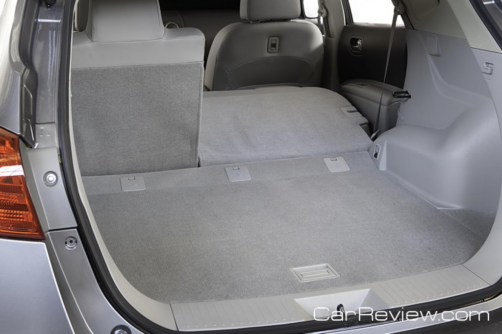 57.9 cubic feet of cargo space with 2nd row seat down