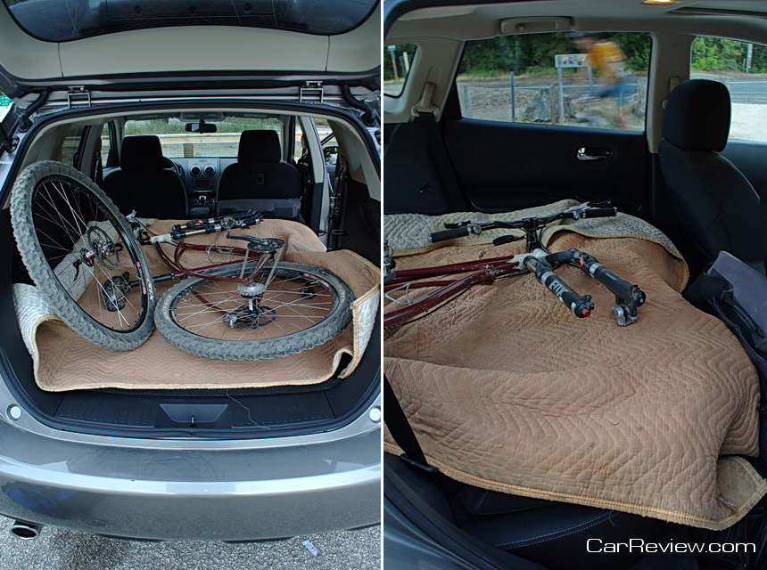 Cargo capacity comparison autos post - Small suv cargo space comparison collection ...