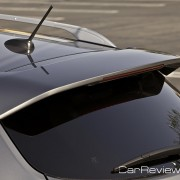 2011 Nissan Rogue rear spoiler