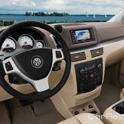 2011 Volkswagen Routan interior