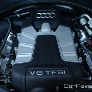 310 hp 3.0L supercharged V6