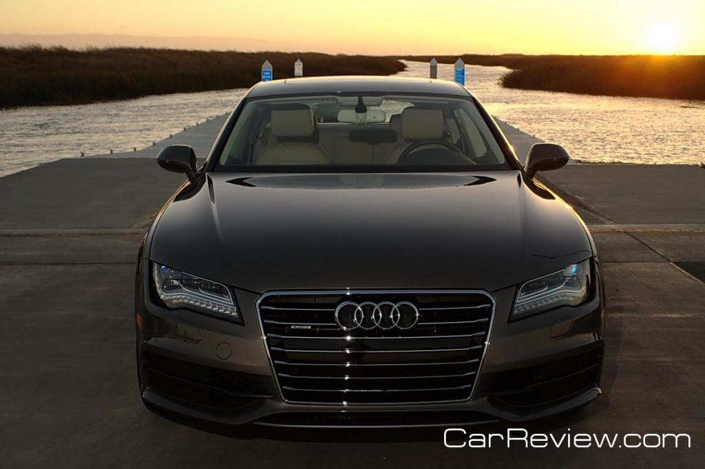 Audi A7 Singleframe® grille