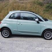 2012 Fiat 500 hatchback