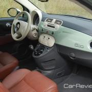 2012 Fiat 500 interior tailored for U.S. market