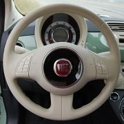 2012 Fiat 500 steering wheel