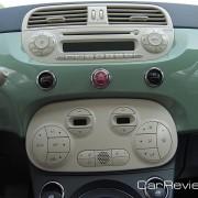 2012 Fiat 500 center console
