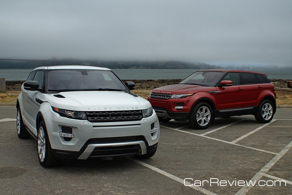 2012 Range Rover Evoque Coupe and 5-Door