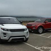 2012 Range Rover Evoque Coupe and 5-Door