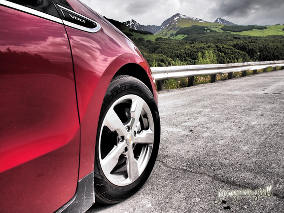 Chevy Volt Olympus E-P3 Alaska Trip