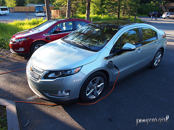 Recharging the Chevrolet Volt