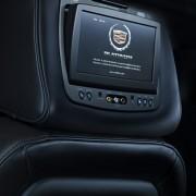 Cadillac Escalade rear seat DVD entertainment system