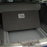 Under floor storage compartments