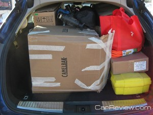 The TSX Sport Wagon has 60.5 cubic feet of cargo space