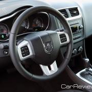 New 3-spoke leather-wrapped steering wheel