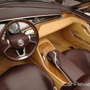 Cadillac Ciel features Italian olive wood trim