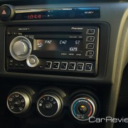 The tC comes standard with a Pioneer AM/FM/CD head unit with USB iPod® connectivity