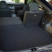 14.7 cubic feet of cargo space w/rear seats up